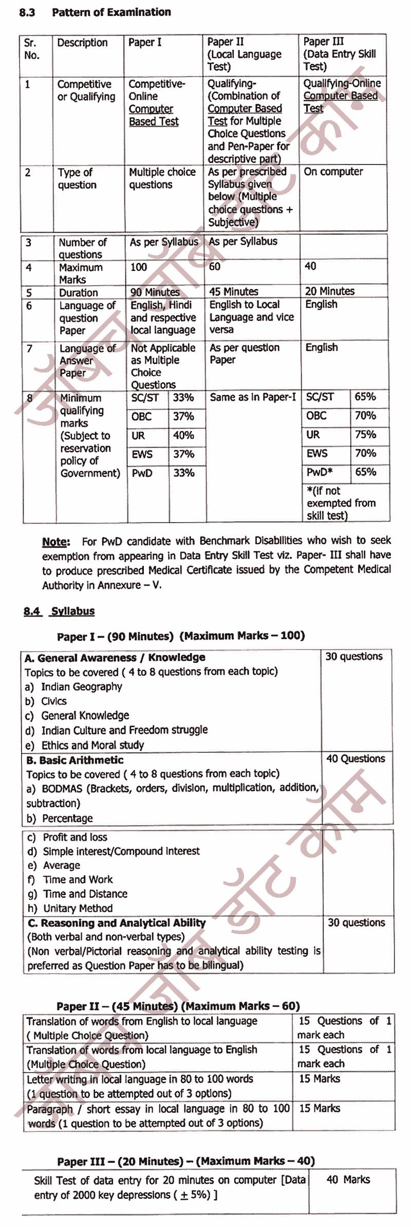 (Post Office) भारतीय डाक विभाग महाराष्ट्र सर्कल 1371 जागा भरती 2020 [Admit Card Dwonload] 4
